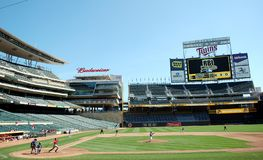Target Field Royalty Free Stock Photos