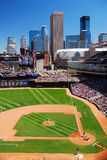 Target Field, Minneapolis. Target Field is the home of baseball`s Minnesota Twins Royalty Free Stock Photo