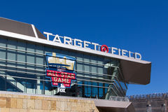 Target Field Stock Photo
