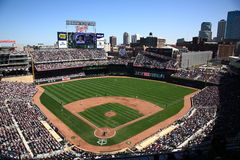 Target Field - Minnesota Twins Royalty Free Stock Photo