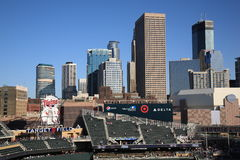 Target Field - Minnesota Twins Royalty Free Stock Photography