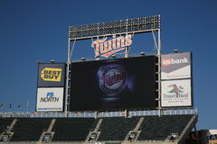 Target Field - Minnesota Twins Royalty Free Stock Photos