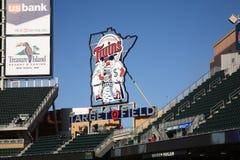 Target Field - Minnesota Twins Stock Photography