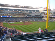 Target Field from the Right Field Stands Stock Photos