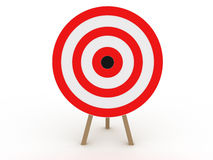 Target in the form №2 Royalty Free Stock Image