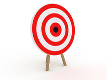 Target in the form №1 Stock Photo