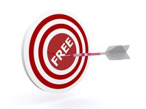 Target free concept Royalty Free Stock Photos