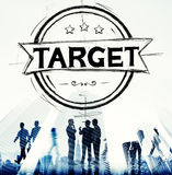 Target Goal Aims Objective Concept Stock Photography