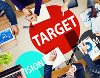Target Goal Aspiration Aim Vision Vision Concept Royalty Free Stock Image