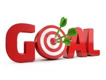 Target goal Stock Photos