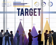 Target Goal Vision Aspiration Success Inspiration Concept Stock Images