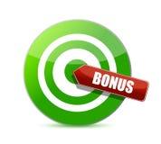 Target good bonus illustration design Royalty Free Stock Photos