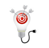 Target great ideas concept illustration design Royalty Free Stock Photography