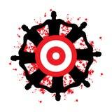 Target Group Royalty Free Stock Photos