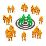 Target Group Royalty Free Stock Image