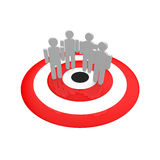 Target group Stock Images
