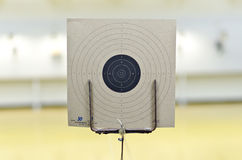 Target of gun shooting Stock Photography