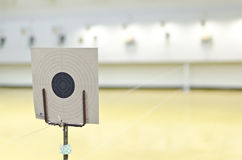 Target of gun shooting royalty free stock image