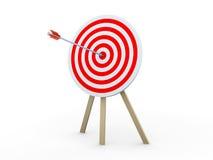 Target hit Royalty Free Stock Image
