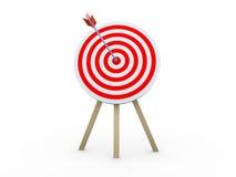Target hit Royalty Free Stock Photos