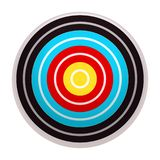 Target icon, cartoon style stock illustration