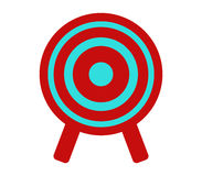 Target icon illustrated Stock Images