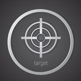 Target Icon Strategy New Idea Business Concept Royalty Free Stock Photo
