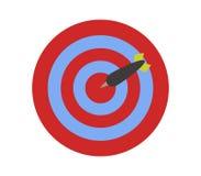 Target icon. On white background Stock Image