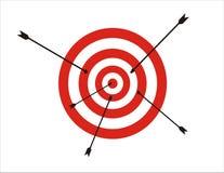 Target illustration Stock Image