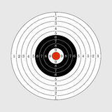 Target illustration for sport target shooting competition. Target illustration for sport shooting competition Stock Image
