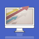 Target Improvement Challenge Icon Concept Royalty Free Stock Images