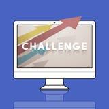 Target Improvement Challenge Icon Concept Royalty Free Stock Photo