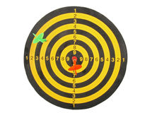 target isolated Royalty Free Stock Photo