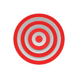 Target Isolated on White Background Vector Stock Photos