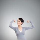 TARGET428_0_ jej swój siłę zdjęcie royalty free
