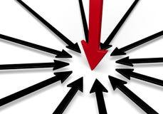 On Target Leadership Royalty Free Stock Image