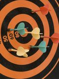 Target Magnetic Darts Stock Photography