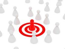 Target Man Royalty Free Stock Image