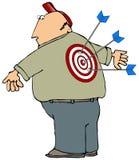 Target Man Stock Image