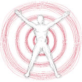 Target man Royalty Free Stock Images