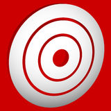 Target mark bullseye / Concentric circles, rings icon Stock Image