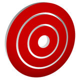 Target mark bullseye / Concentric circles, rings icon Royalty Free Stock Image