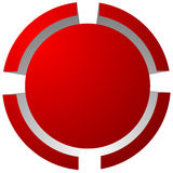 Target mark, reticle, crosshair icon for focus, accuracy, target Royalty Free Stock Photography