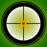 Target mark, reticle, crosshair icon for focus, accuracy, target Stock Photo