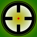 Target mark, reticle, crosshair icon for focus, accuracy, target Stock Photos