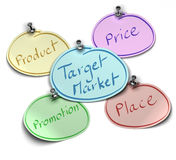 Target market Stock Photography