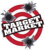 Target Market Royalty Free Stock Image