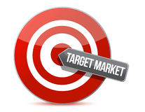 Target market concept Stock Images