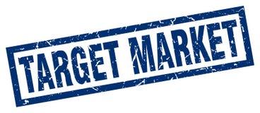 Target market stamp. Target market grunge vintage stamp isolated on white background. target market. sign royalty free illustration