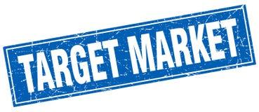 Target market stamp. Target market square grunge stamp. target market sign. target market royalty free illustration